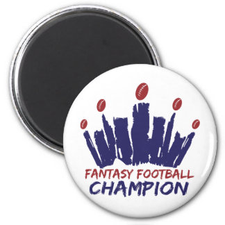Fantasy Football Champion Magnet