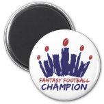 Fantasy Football Champion Magnets