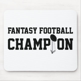 Fantasy Football Champion Mouse Pads