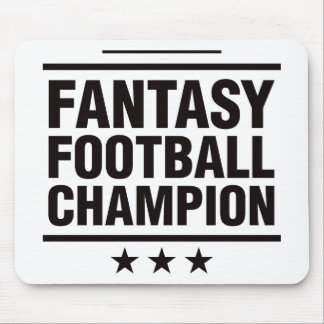 Fantasy Football Champion Mouse Mat