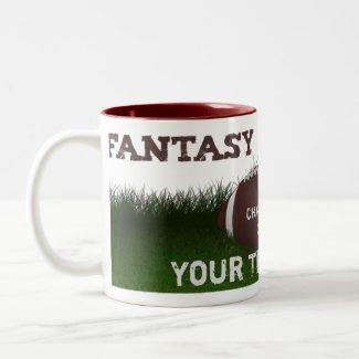 Fantasy Football Champion Mug mug