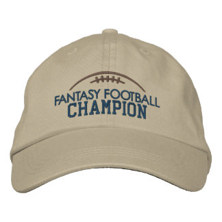 Fantasy Football Champion with Modern Football Baseball Cap