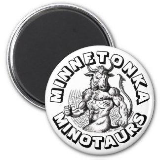 Fantasy Football Champs: The Minnetonka Minotaurs! Magnet