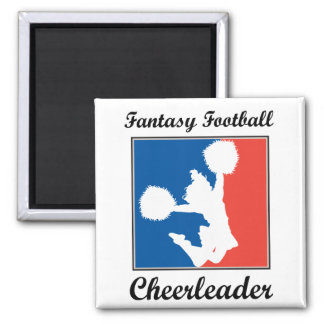Fantasy Football Cheerleader Magnet