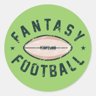 Fantasy Football Classic Round Sticker