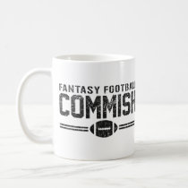 Fantasy Football Commish Coffee Mug