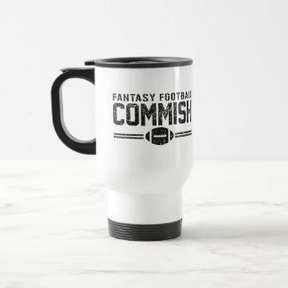 Fantasy Football Commish 15 Oz Stainless Steel Travel Mug