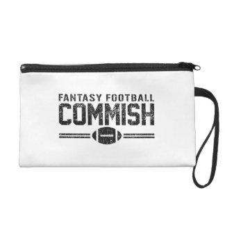 Fantasy Football Commish Wristlet Purse