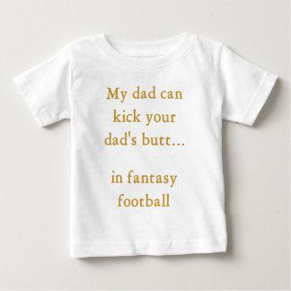 Fantasy football dad baby T-Shirt