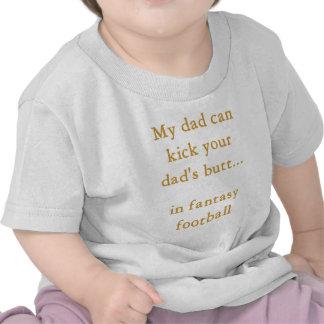 Fantasy football dad t shirt