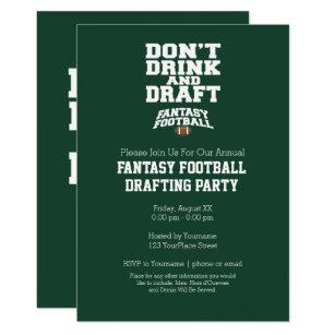 Funny Football Invitations Zazzle