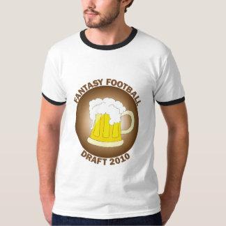 Fantasy Football Draft Brown T-Shirt