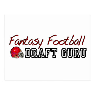 Fantasy Football Draft Guru Postcard