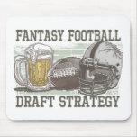Fantasy Football Draft Strategy Mouse Pad