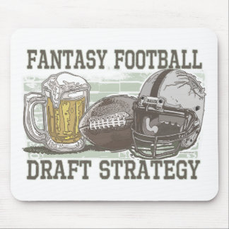 Fantasy Football Draft Strategy Mouse Pads