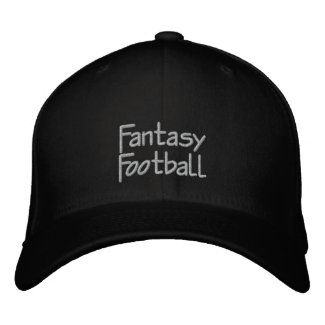 Fantasy Football Embroidered Cap Add Team Name Embroidered Baseball Cap