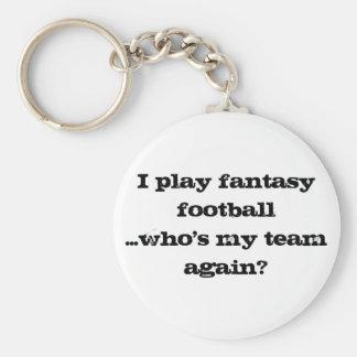 Fantasy Football Fans' Keychain
