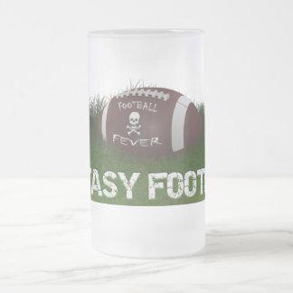 Fantasy Football Fever Frosted Glass Beer Mug