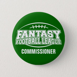 Fantasy Football FFL Commissioner Button