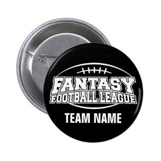Fantasy Football FFL Custom Gift 2 Inch Round Button
