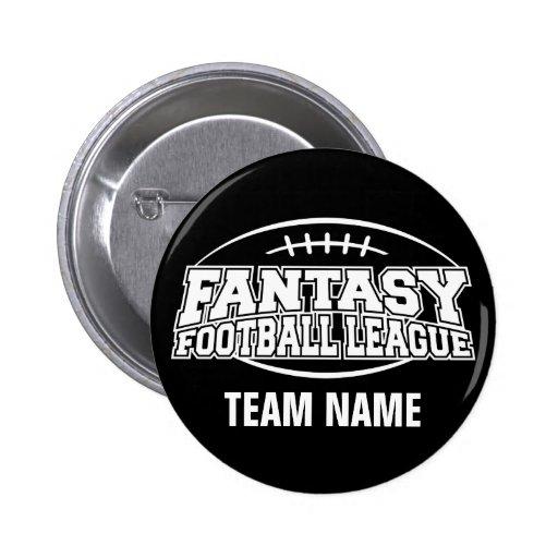 Fantasy Football FFL Custom Gift Pin