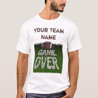 Fantasy Football Game Over Custom T-Shirt