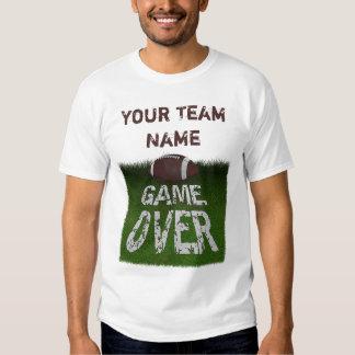 Fantasy Football Game Over Custom Tshirts