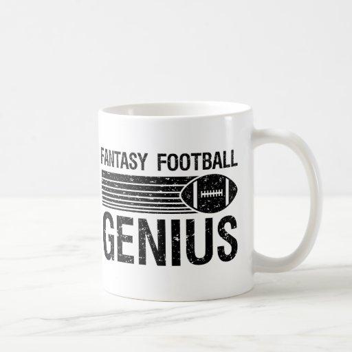 Fantasy Football Genius 1 Classic White Coffee Mug