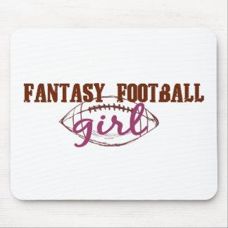 Fantasy Football Girl Mouse Mat