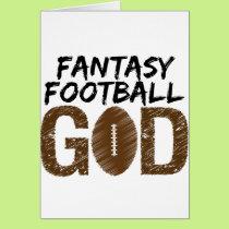 fantasy football god card