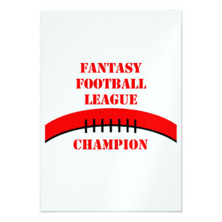 Fantasy Football Personalized Announcement