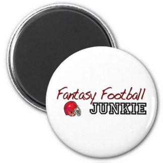 Fantasy Football Junkie Fridge Magnet