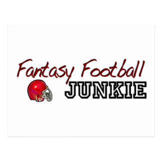 Fantasy Football Junkie Postcard
