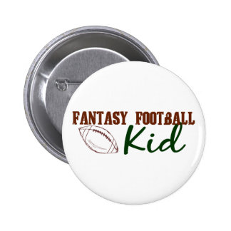 Fantasy Football Kid 2 Inch Round Button