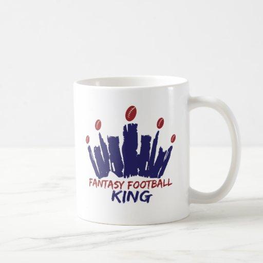 Fantasy Football King Coffee Mug