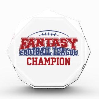 Fantasy Football League Champion Awards