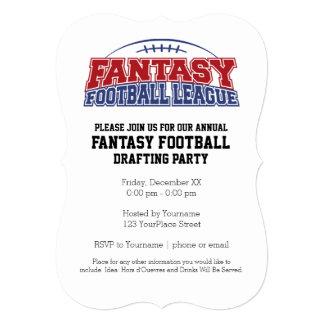 Fantasy Football League Champion Card
