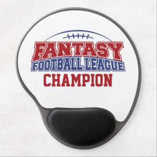 Fantasy Football League Champion Gel Mouse Pad