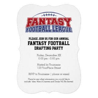 Fantasy Football League Champion Personalized Invitations