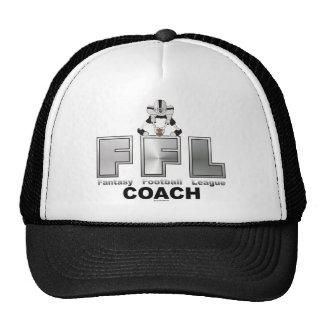 Fantasy Football League Coach Trucker Hat