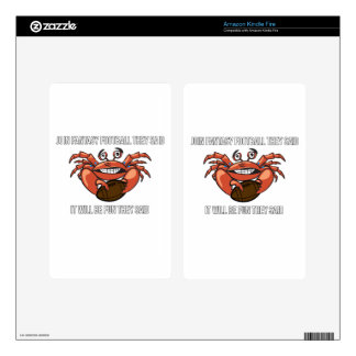 Fantasy Football League Meme Humor Decals For Kindle Fire
