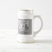 Fantasy Football League Trophy Beer Stein