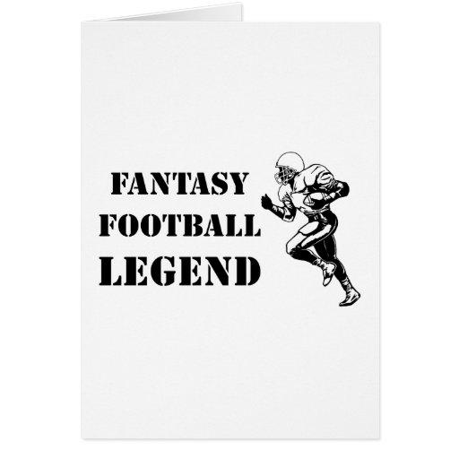 Fantasy Football Legend 2 Greeting Card
