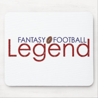 fantasy football legend new 2010 mouse pad