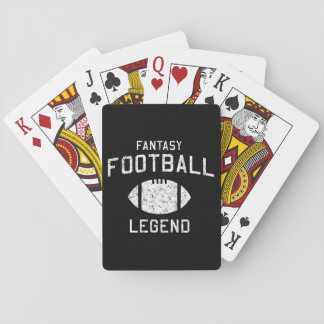 Fantasy Football Legend Playing Cards