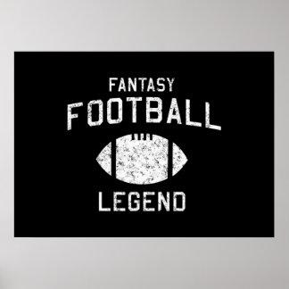 Fantasy Football Legend Poster