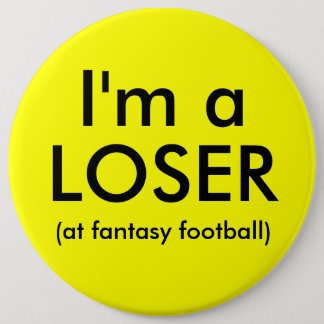 Fantasy Football Loser Button