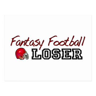 Fantasy Football Loser Postcard
