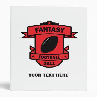 Fantasy Football Notebook 3 Ring Binder