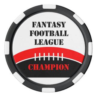 Fantasy Football Poker Chips